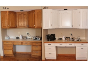 Painting-Cabinets-White-painting-kitchen-cabinets-white-before-and-after-picturespainted-oak-kitchen-cabinets-before-and-after